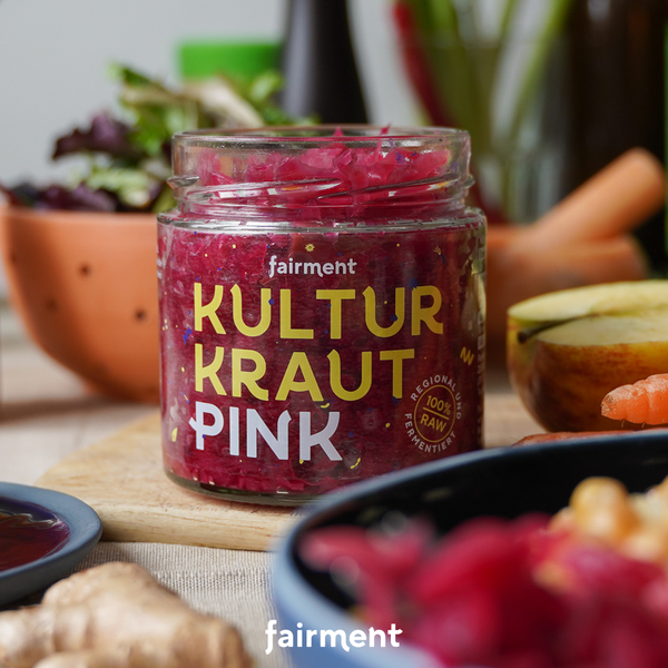 Organic Cabbage Culture-Kraut Pink (330 g)