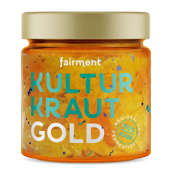 Organic Cabbage Culture-Kraut Gold (330 g)