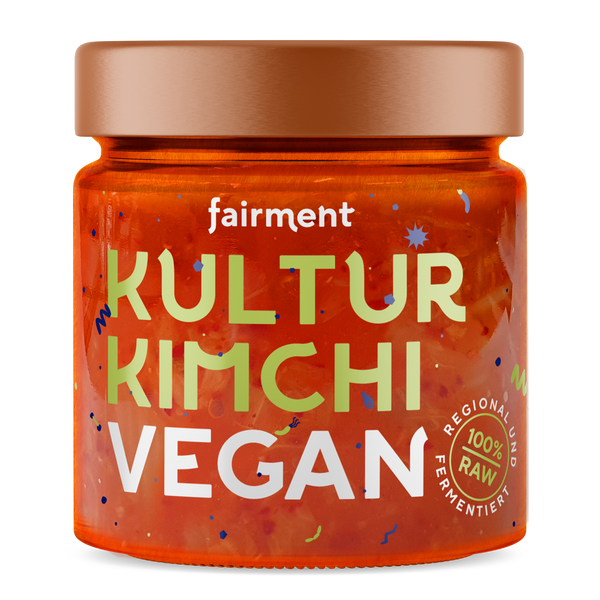 Organic culture kimchi vegan (330 g) | german packaging