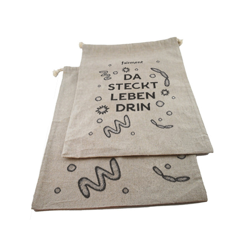 bread bag I 100% natural linen, antibacterial, ecological & breathable