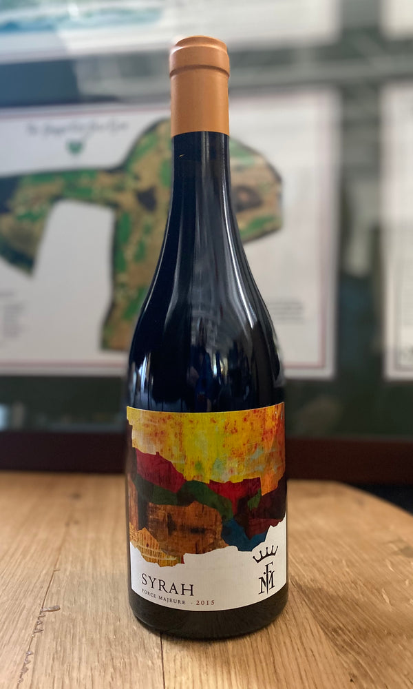 Load image into Gallery viewer, Force Majeure Estate Syrah 2015