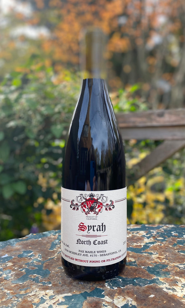 Pax Syrah North Coast 2018