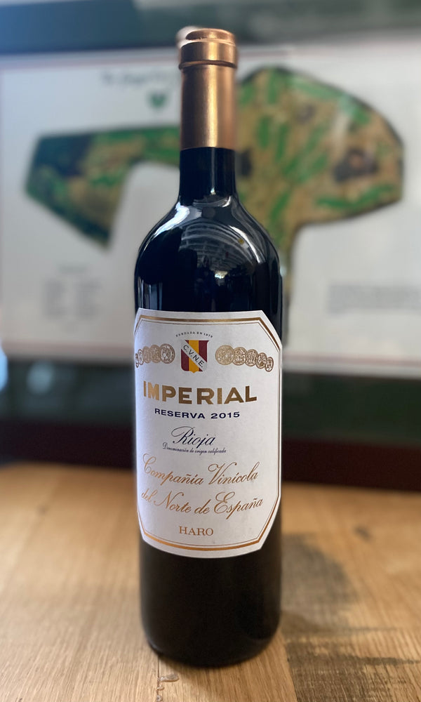 Load image into Gallery viewer, CVNE Imperial Reserva Rioja 2015