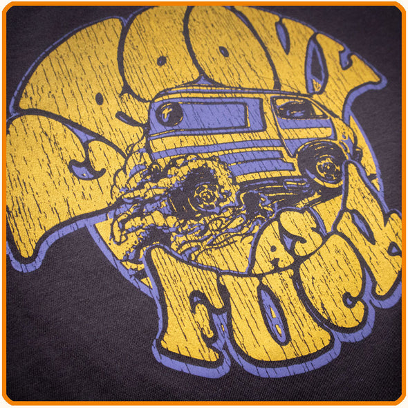 "T-Shirt ""Groovy as fuck"" unisex"