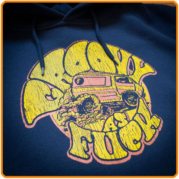 "Sweatshirt ""Groovy as Fuck'"""
