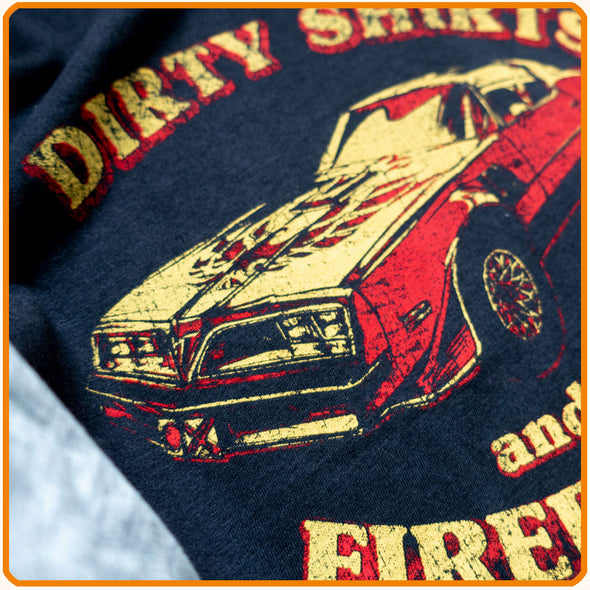 "Baseball-T-Shirt ""Dirty Shirts and Firebirds"""