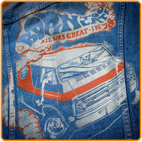 Customized Denim-Vest, 2
