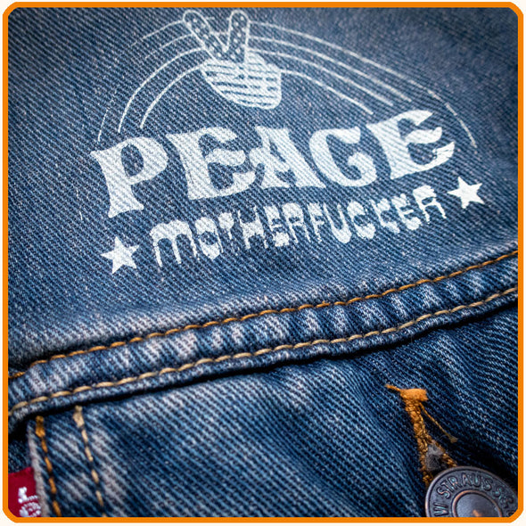 Customized Denim-Vest, 1