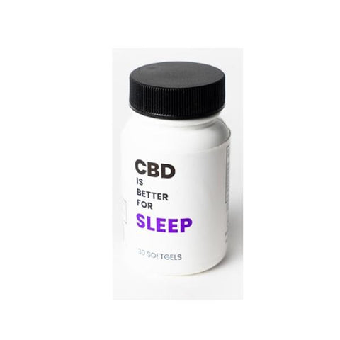 CBD Is Better 750mg CBD Softgels 30 CT Bottle - Sleep