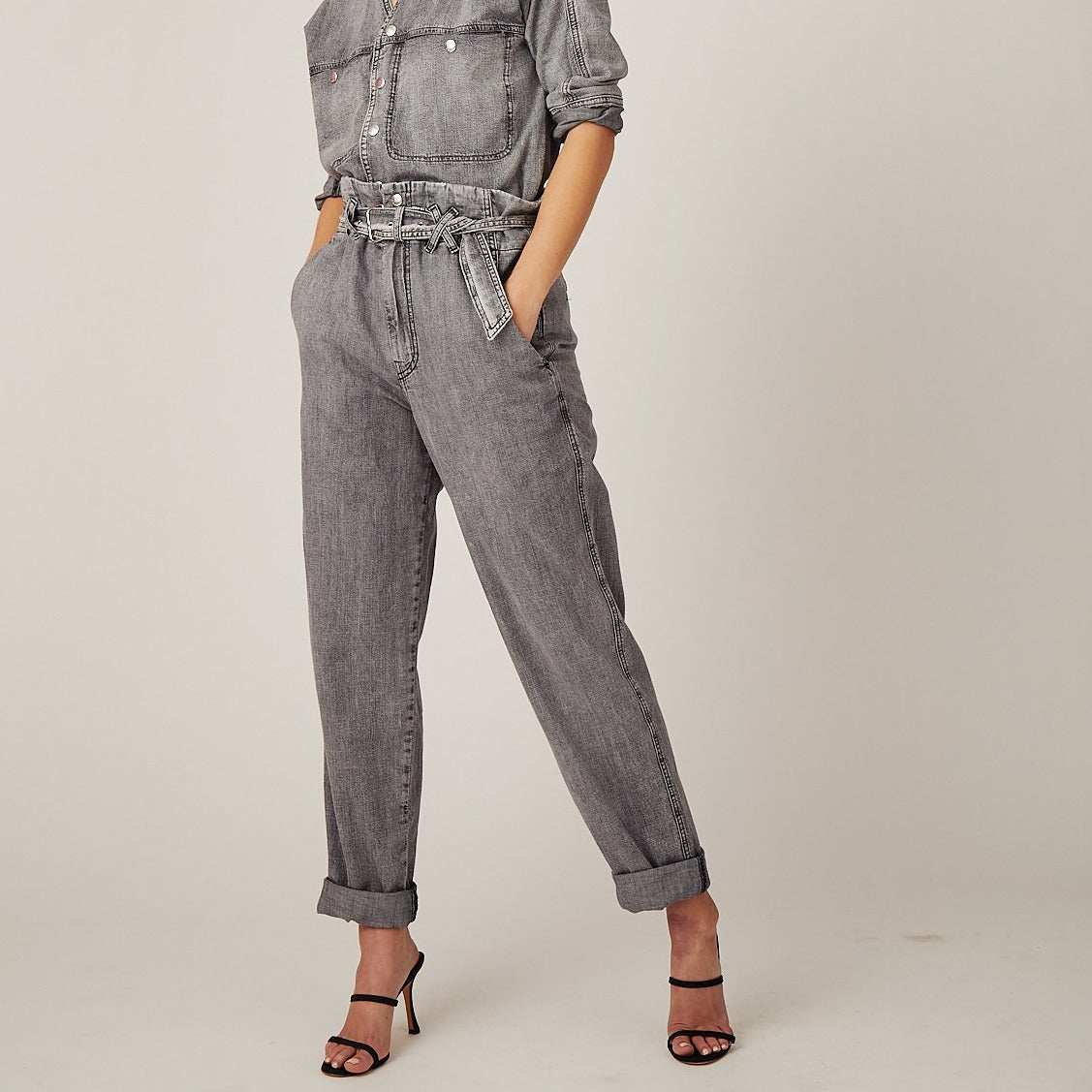 Carlyle Washed Grey Pant
