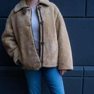 Shearling & Nylon Reversible Jacket