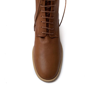 Bina Lace-Up Leather Boot