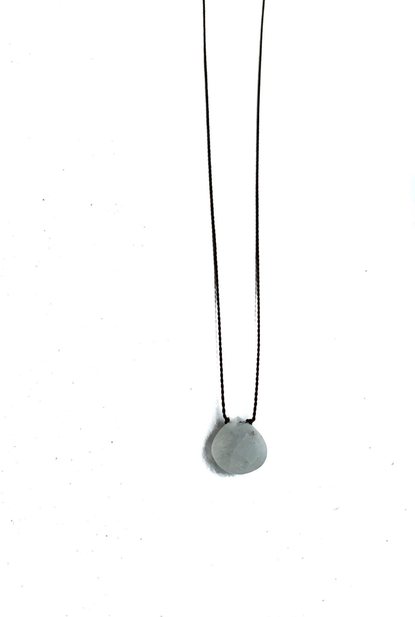 Gemstone Drop Necklace