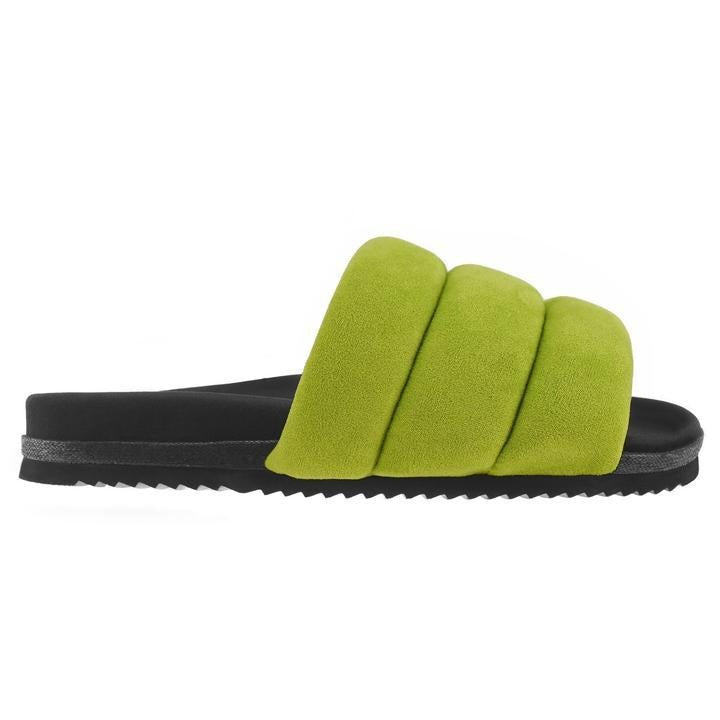 Super Puff Slide in Lime