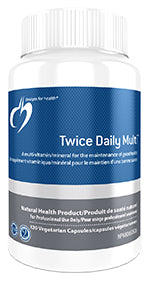 Twice Daily Multi 120 Capsules - Canada