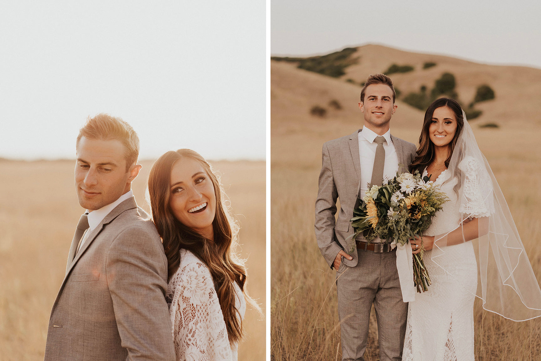 Aubree and Derek Wedding in Moab Utah by Morgan and Joel Photo
