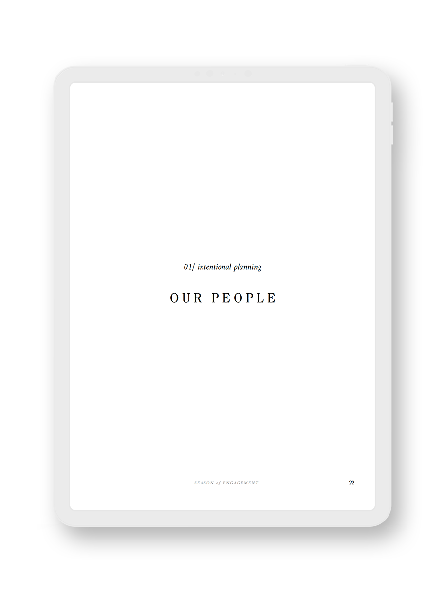 The Engagement Journal E-Book Inside