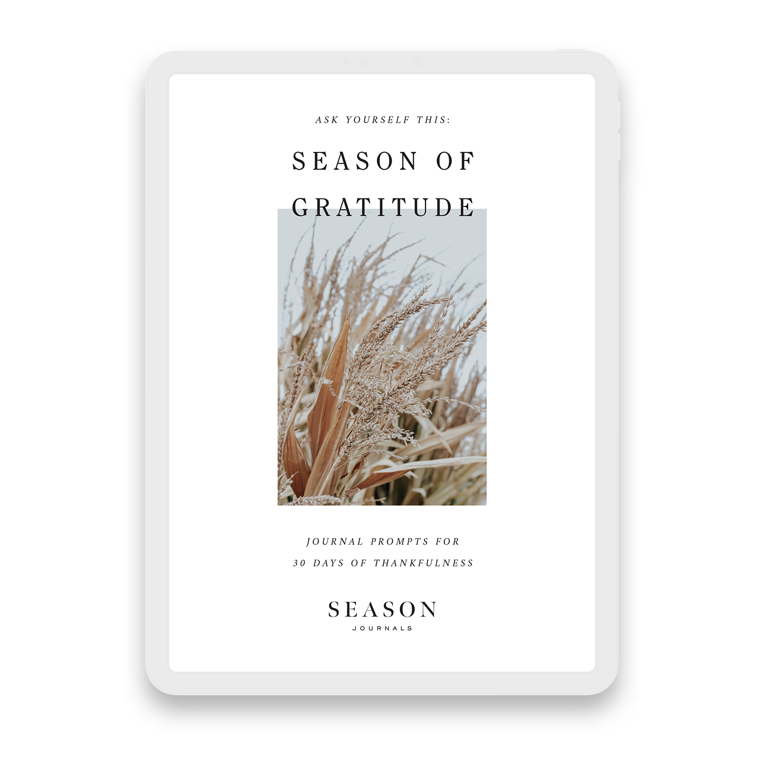 Season of Gratitude Workbook Cover