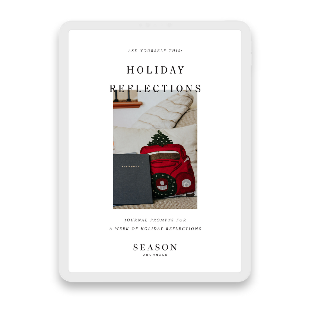 Holiday Reflections Workbook Cover