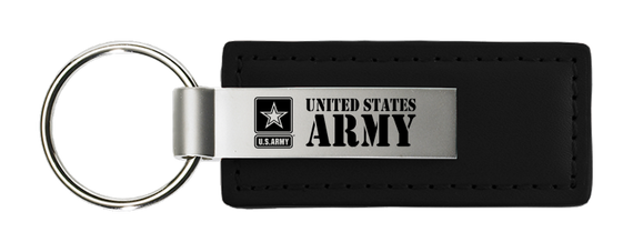 NEW US Army Fantasy Chip With Gold Key Ring Key Chain *