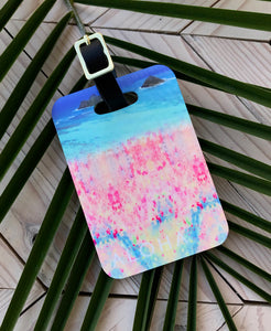 Mokulua Islands Luggage Tag