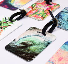 Load image into Gallery viewer, Midnight Wave Luggage Tag