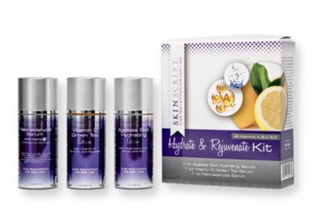 Hydrate and Rejuvenate Kit