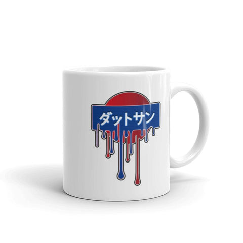 "JDM Mugs - ""Nissan Datsun"" 11oz right"