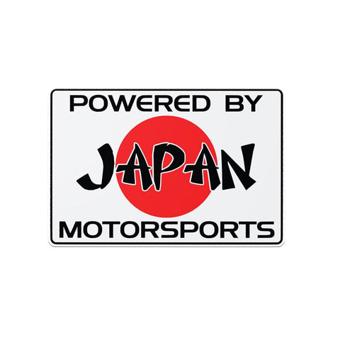 Powered by Japan Motorsports Stickers JDM