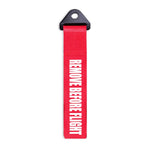 """Remove Before Flight"" Missile Style Tow Strap"