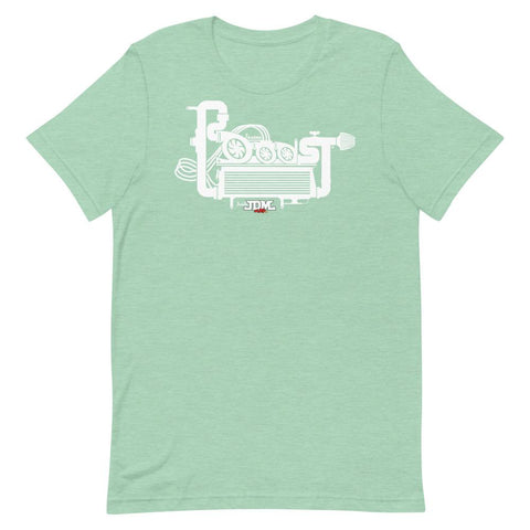 """BOOOST"" Style Unisex Short-Sleeve T-Shirt Heater Prism Mint"