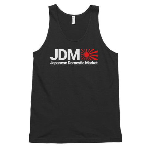 """Japanese Domestic Market"" Style Unisex Top Tanks"