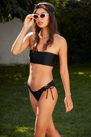 Load image into Gallery viewer, Kendall Bandeau Swim Set - ALAMAE