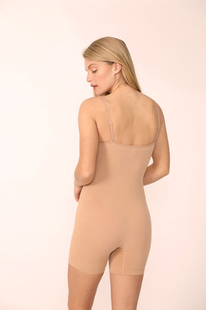 Load image into Gallery viewer, Luna Sculpting Bodysuit Shapewear in Nude - ALAMAE