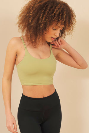 Naomi Double Strap Sports Bra - ALAMAE