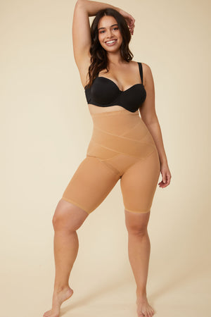 Simone Shaping Short in Nude - ALAMAE