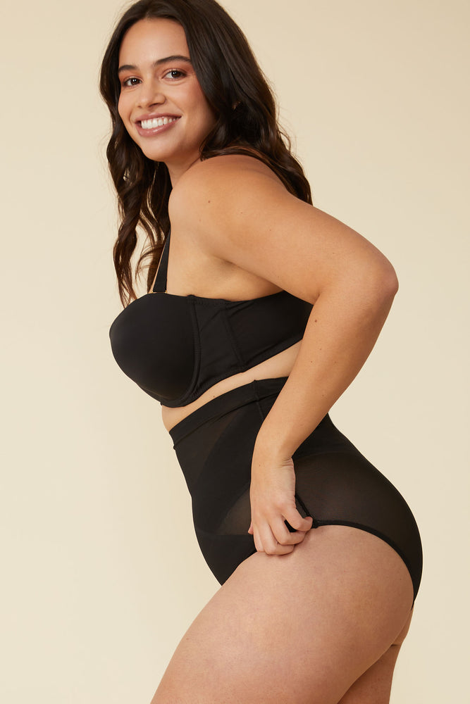 Simone Shaping Brief in Black - ALAMAE