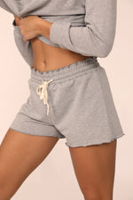 Jasmine Lounge Short in Gray - ALAMAE