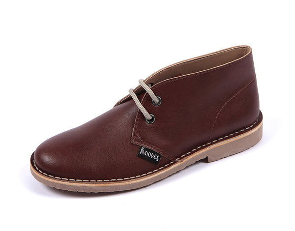 Women's Vegan Leather Desert Boots