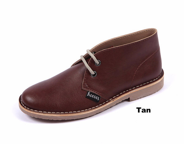 Men's Vegan Leather Desert Boots