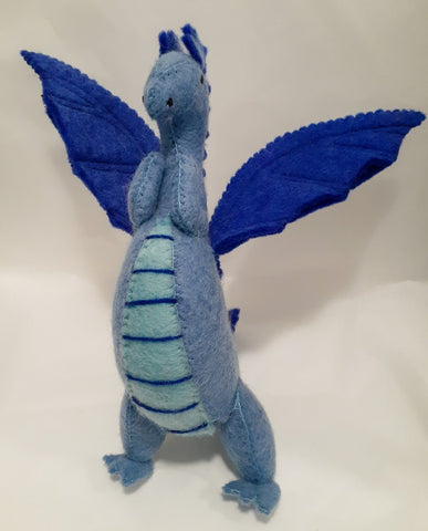Large Dragon Blue