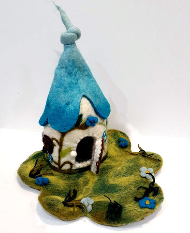 Fairy House - Blue
