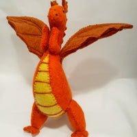Large Dragon Orange