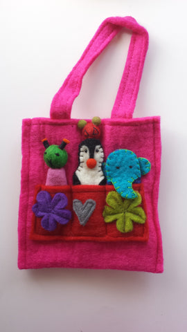 Small Finger Puppet Bag