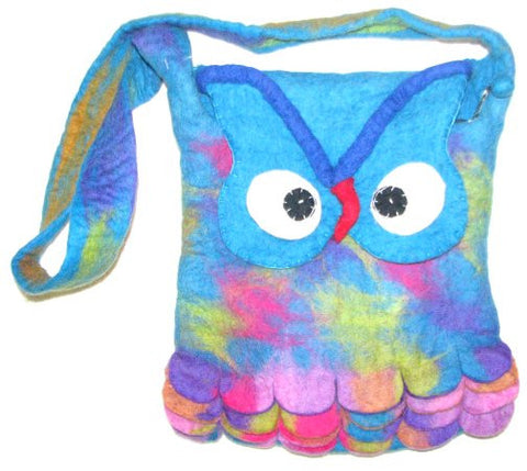 Owl Bag - blue