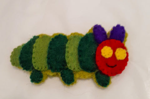 Caterpillar Finger Puppet