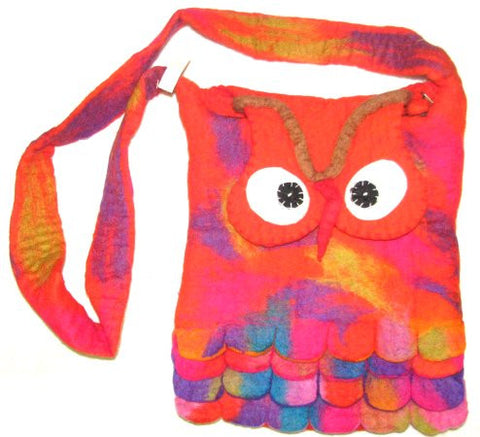 Owl Bag - orange