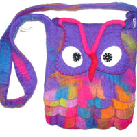 Owl Bag - purple