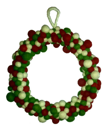 Bubble Ball Christmas Wreath