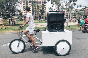 used new cargo pedicab bikes for sale in San Diego VIP Custom Cycles